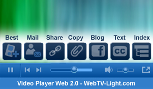 web tv light fonction design