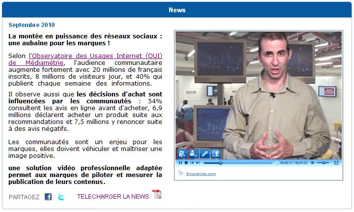 WebTV Light™ blog insertion