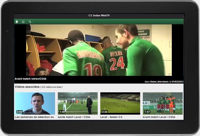 WebTV Light™ tab tablettes